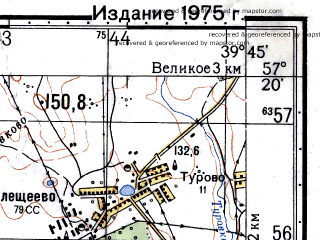 Reduced fragment of topographic map ru--gs--050k--o37-104-1--N057-20_E039-30--N057-10_E039-45; towns and cities Semibratovo