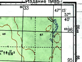 Reduced fragment of topographic map ru--gs--050k--o38-095-1--(1979)--N057-40_E047-00--N057-30_E047-15