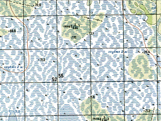 Reduced fragment of topographic map ru--gs--050k--o41-005-1--N060-00_E062-00--N059-50_E062-15