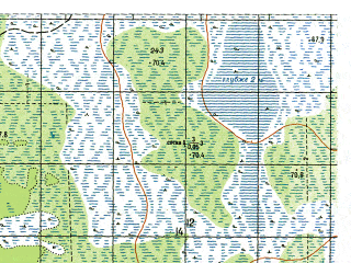 Reduced fragment of topographic map ru--gs--050k--o41-019-1--N059-40_E063-00--N059-30_E063-15