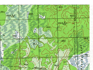 Reduced fragment of topographic map ru--gs--050k--p41-099-1_2--N061-20_E061-00--N061-10_E061-30