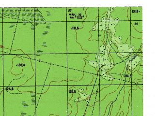 Reduced fragment of topographic map ru--gs--050k--p41-137-1_2--N060-20_E062-00--N060-10_E062-30