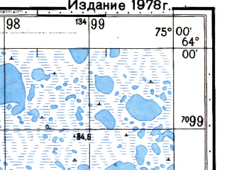 Reduced fragment of topographic map ru--gs--050k--p43-006-1_2--N064-00_E074-30--N063-50_E075-00