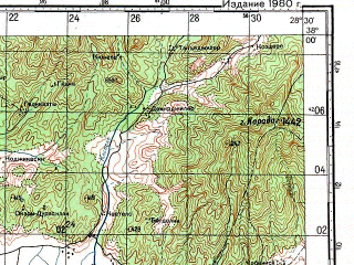 Reduced fragment of topographic map ru--gs--100k--j35-081--N038-00_E028-00--N037-40_E028-30; towns and cities Nazilli, Yenipazar, Bozdogan, Kuyucak, Sultanhisar
