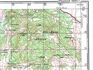 Reduced fragment of topographic map ru--gs--100k--j37-044--N039-00_E039-30--N038-40_E040-00; towns and cities Palu