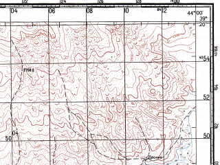 Reduced fragment of topographic map ru--gs--100k--j38-028--N039-20_E043-30--N039-00_E044-00