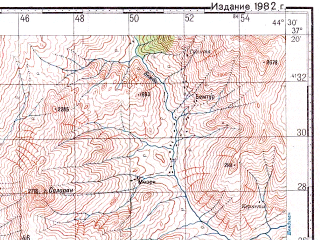 Reduced fragment of topographic map ru--gs--100k--j38-101--N037-20_E044-00--N037-00_E044-30