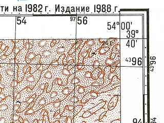Reduced fragment of topographic map ru--gs--100k--j39-024--N039-40_E053-30--N039-20_E054-00