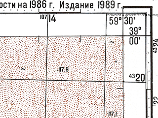 Reduced fragment of topographic map ru--gs--100k--j40-047--N039-00_E059-00--N038-40_E059-30