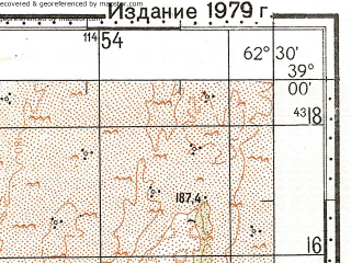 Reduced fragment of topographic map ru--gs--100k--j41-041--N039-00_E062-00--N038-40_E062-30