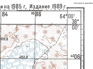 Reduced fragment of topographic map ru--gs--100k--j41-080--N038-00_E063-30--N037-40_E064-00