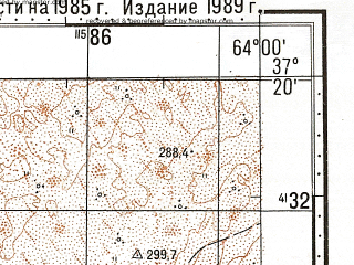 Reduced fragment of topographic map ru--gs--100k--j41-104--N037-20_E063-30--N037-00_E064-00