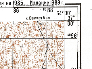 Reduced fragment of topographic map ru--gs--100k--j41-116--N037-00_E063-30--N036-40_E064-00