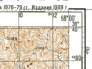 Reduced fragment of topographic map ru--gs--100k--j42-052--N038-40_E067-30--N038-20_E068-00