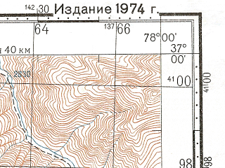 Reduced fragment of topographic map ru--gs--100k--j43-120--N037-00_E077-30--N036-40_E078-00