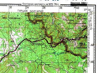 Download topographic map in area of Kirklareli Kofcas mapstorcom