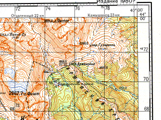 Reduced fragment of topographic map ru--gs--100k--k37-008--N044-00_E039-30--N043-40_E040-00