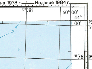 Reduced fragment of topographic map ru--gs--100k--k40-012--N044-00_E059-30--N043-40_E060-00
