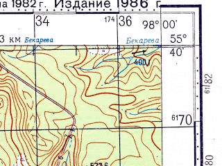 Reduced fragment of topographic map ru--gs--100k--n47-016--N055-40_E097-30--N055-20_E098-00