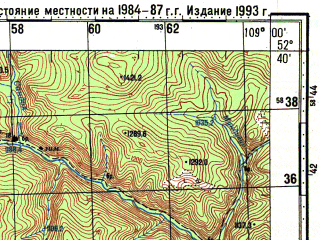 Reduced fragment of topographic map ru--gs--100k--n49-122--N052-40_E108-30--N052-20_E109-00