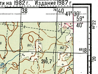 Reduced fragment of topographic map ru--gs--100k--o37-023--N059-40_E041-00--N059-20_E041-30; towns and cities Chuchkovo
