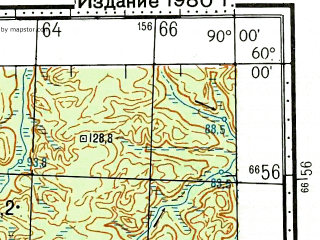 Reduced fragment of topographic map ru--gs--100k--o45-012--N060-00_E089-30--N059-40_E090-00; towns and cities Plotbishche Odinnadtsatoye
