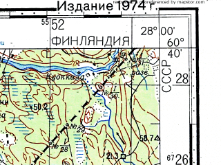 Download topographic map in area of Hamina Virolahti mapstorcom