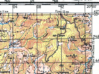Download topographic map in area of Kruje Lac Burrel mapstorcom