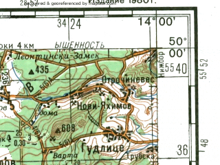 Reduced fragment of topographic map ru--gs--200k--m33-20--N050-00_E013-00--N049-20_E014-00; towns and cities Plzen, Klatovy, Rokycany
