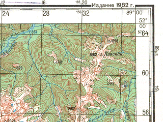 Reduced fragment of topographic map ru--gs--200k--m45-05--N052-00_E088-00--N051-20_E089-00