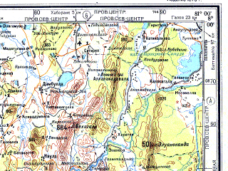 Download topographic map in area of Colombo Kandy Moratuwa