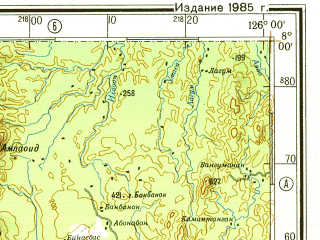 Download topographic map in area of Davao General Santos Pagadian