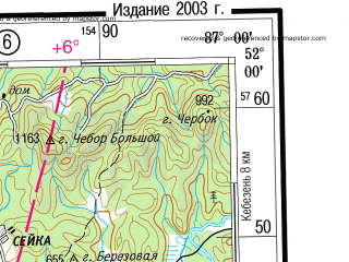 Reduced fragment of topographic map ru--gs--500k--m45-1--(2003)--N052-00_E084-00--N050-00_E087-00; towns and cities Gorno-altaysk, Altayskiy, Ust'-kan, Ust'-koksa, Onguday