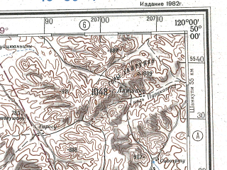 Reduced fragment of topographic map ru--gs--500k--m50-4--N050-00_E117-00--N048-00_E120-00; towns and cities Zabaykal'sk, Kaylastuy, Hargant, Monggon Qulu