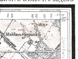 Reduced fragment of topographic map ru--wtogs--084k--30-13--(1915)--N050-30_pW007-39--N050-15_pW007-12; towns and cities Jozefow, Tarnogrod