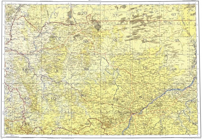 Download topographic map in area of Bamako Segou Kayes mapstorcom
