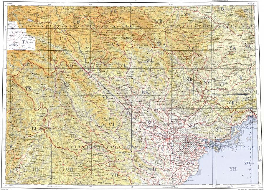 Download topographic map in area of Hanoi Haiphong Cam Duong