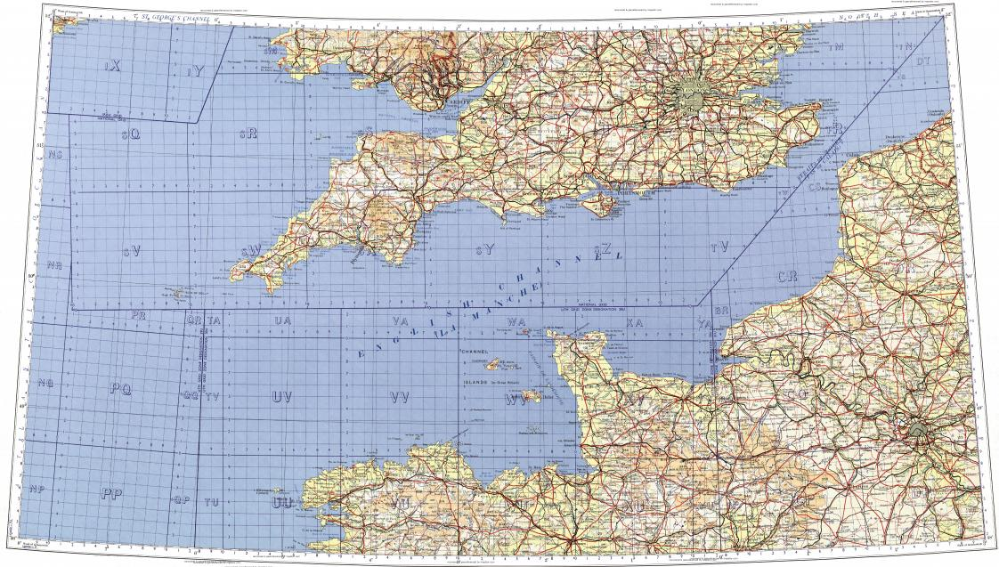 Topographic Map London.Download Topographic Map In Area Of London Paris Cardiff Mapstor Com
