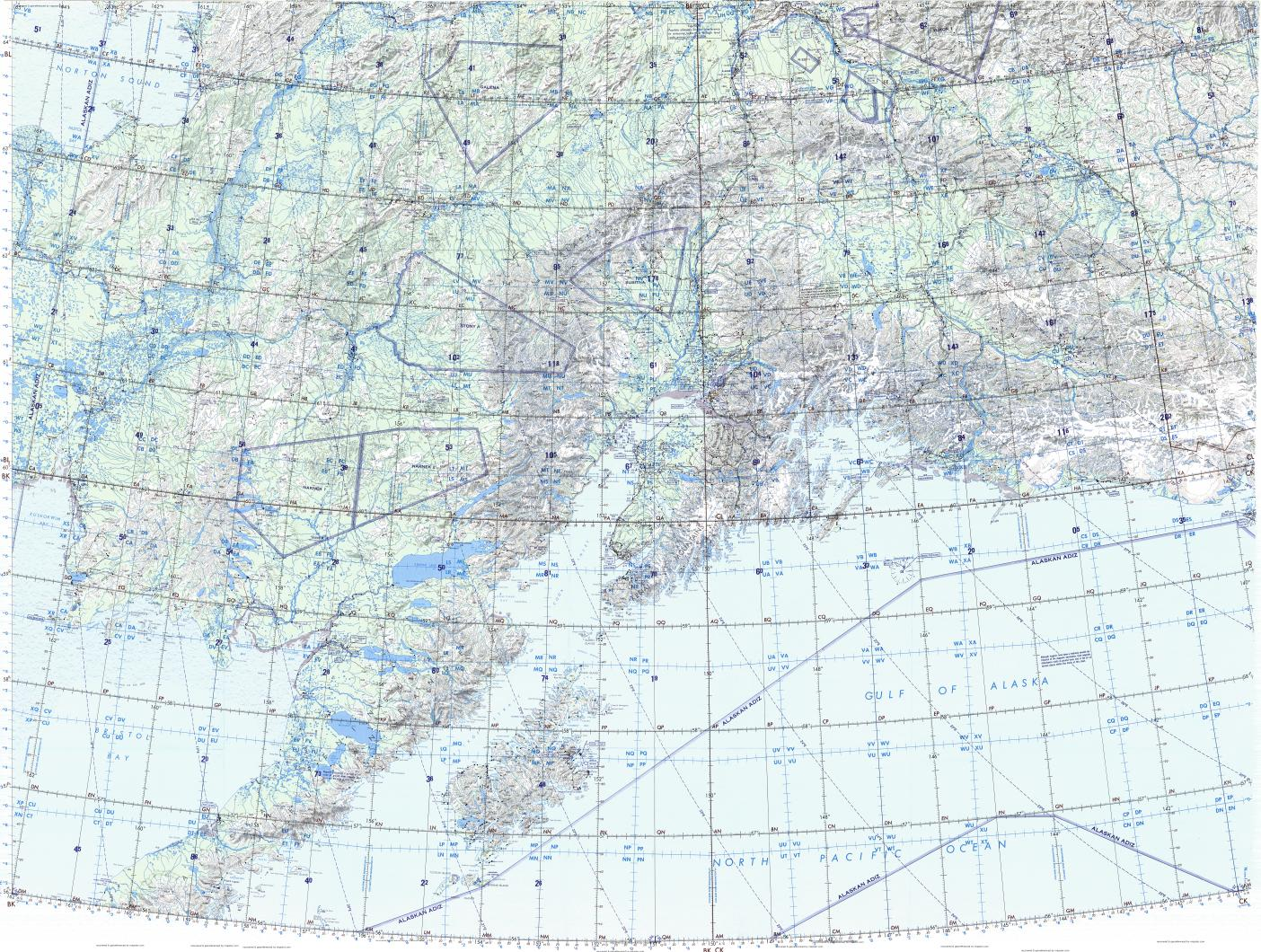 Download Topographic Map In Area Of Anchorage Mapstor Com