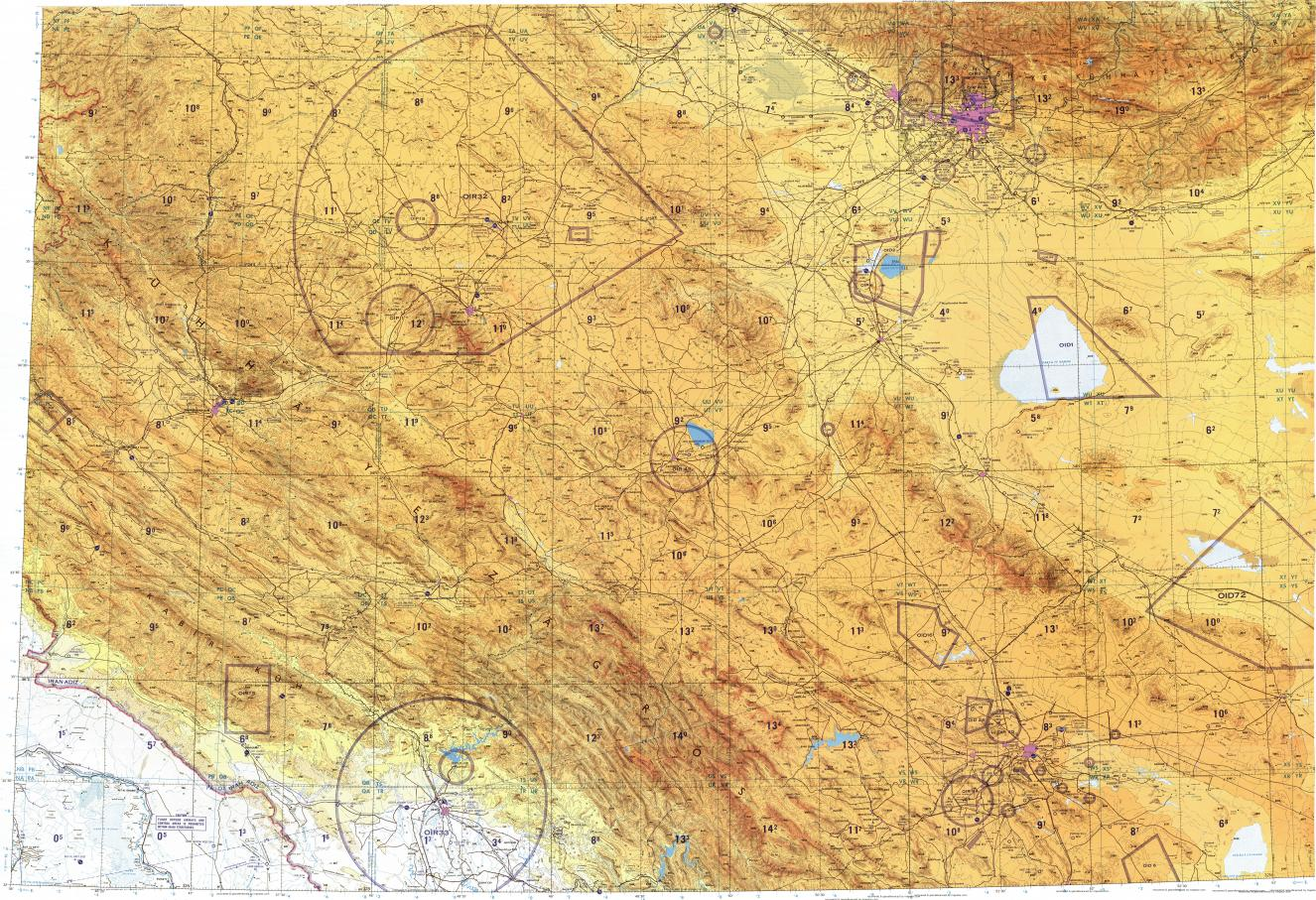 Download Topographic Map In Area Of Tehran Toveh Zifreh Mapstor Com