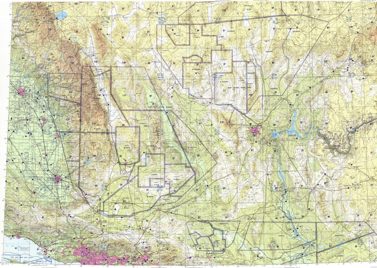 Download Topographic Map In Area Of Los Angeles Oxnard - Los angeles topographic map