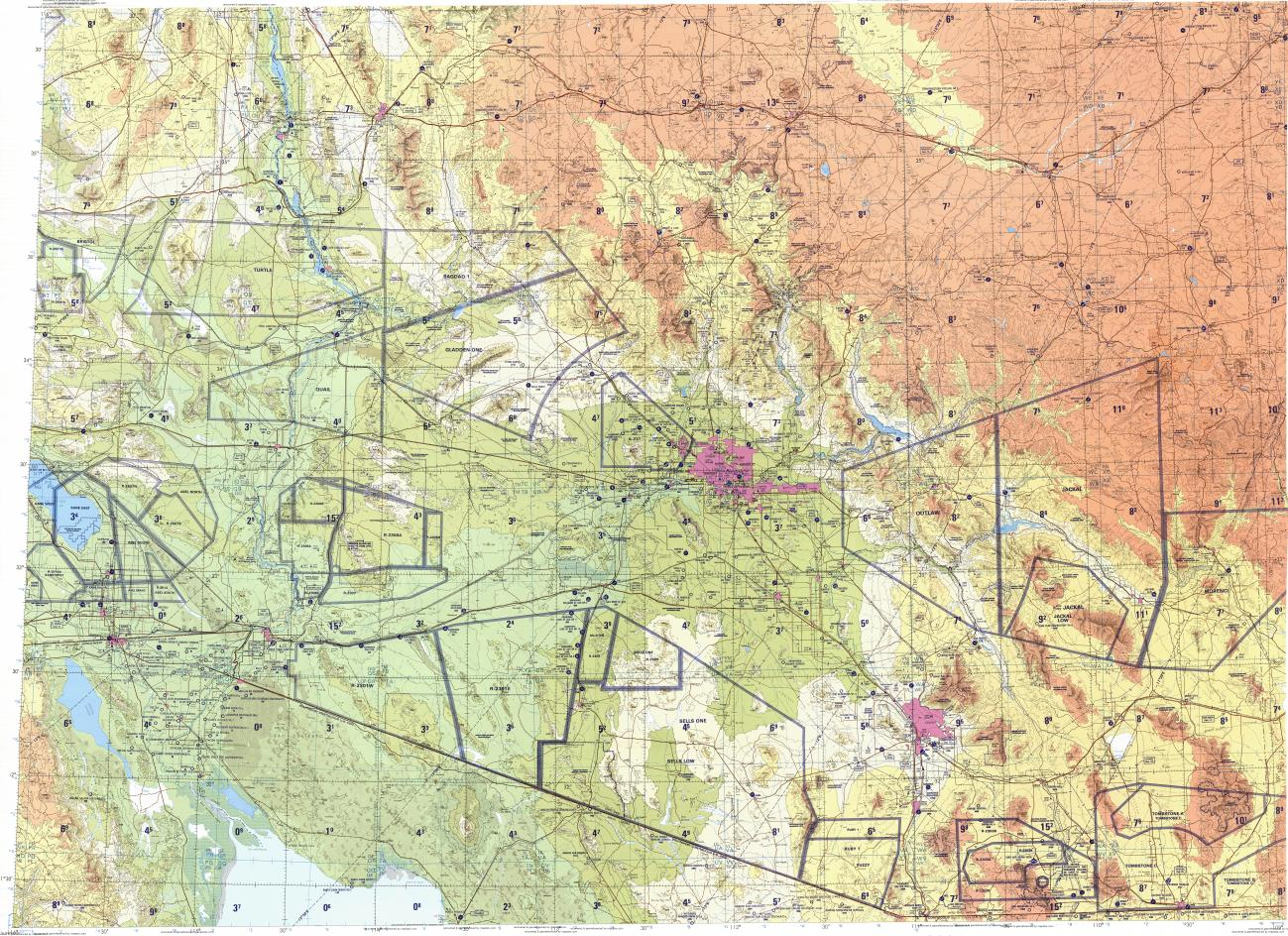 topographical map of colorado with En Tpc 500k G19 D  1994  N035 30 W116 00 N031 30 W109 00 on 27082g4 likewise Utah Topo Map additionally Trinidad Colorado further Fenn Treasure Hunt Map in addition Indian Petroglyphs.