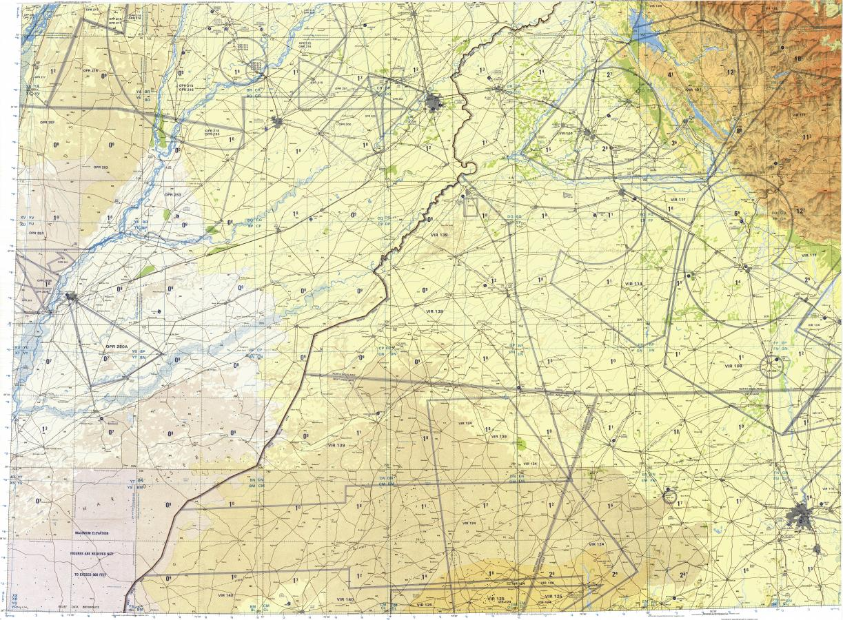 Lahore World Map.Download Topographic Map In Area Of Lahore Jahania Changoti