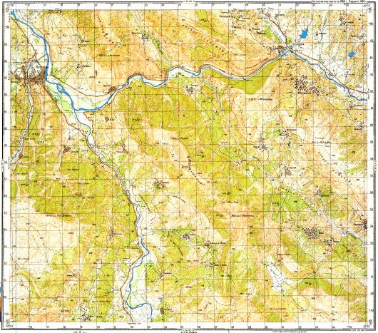 Download topographic map in area of Tepelene mapstorcom