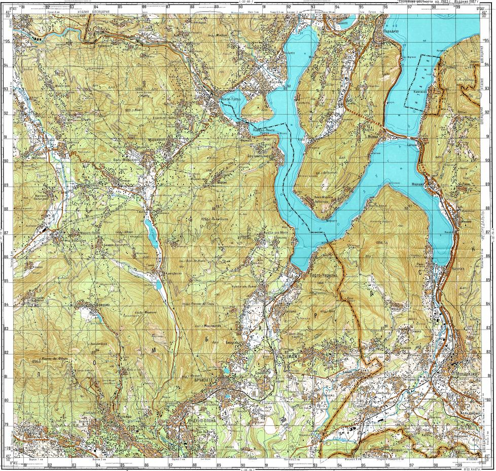 Download topographic map in area of Lugano Luino mapstorcom