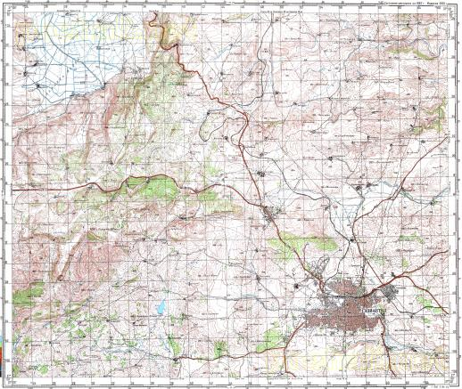 Download topographic map in area of Gaziantep mapstorcom