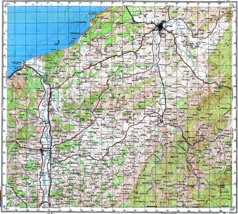 Download topographic map in area of Bartin Caycuma mapstorcom