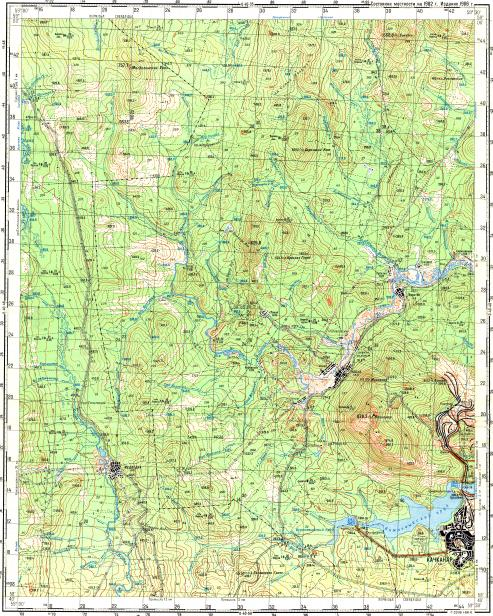 Download topographic map in area of Kosya mapstorcom