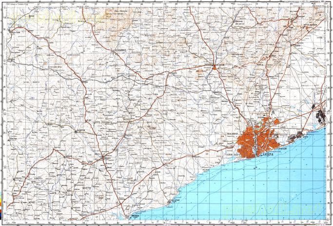 Download topographic map in area of Accra Nsawam Oda mapstorcom