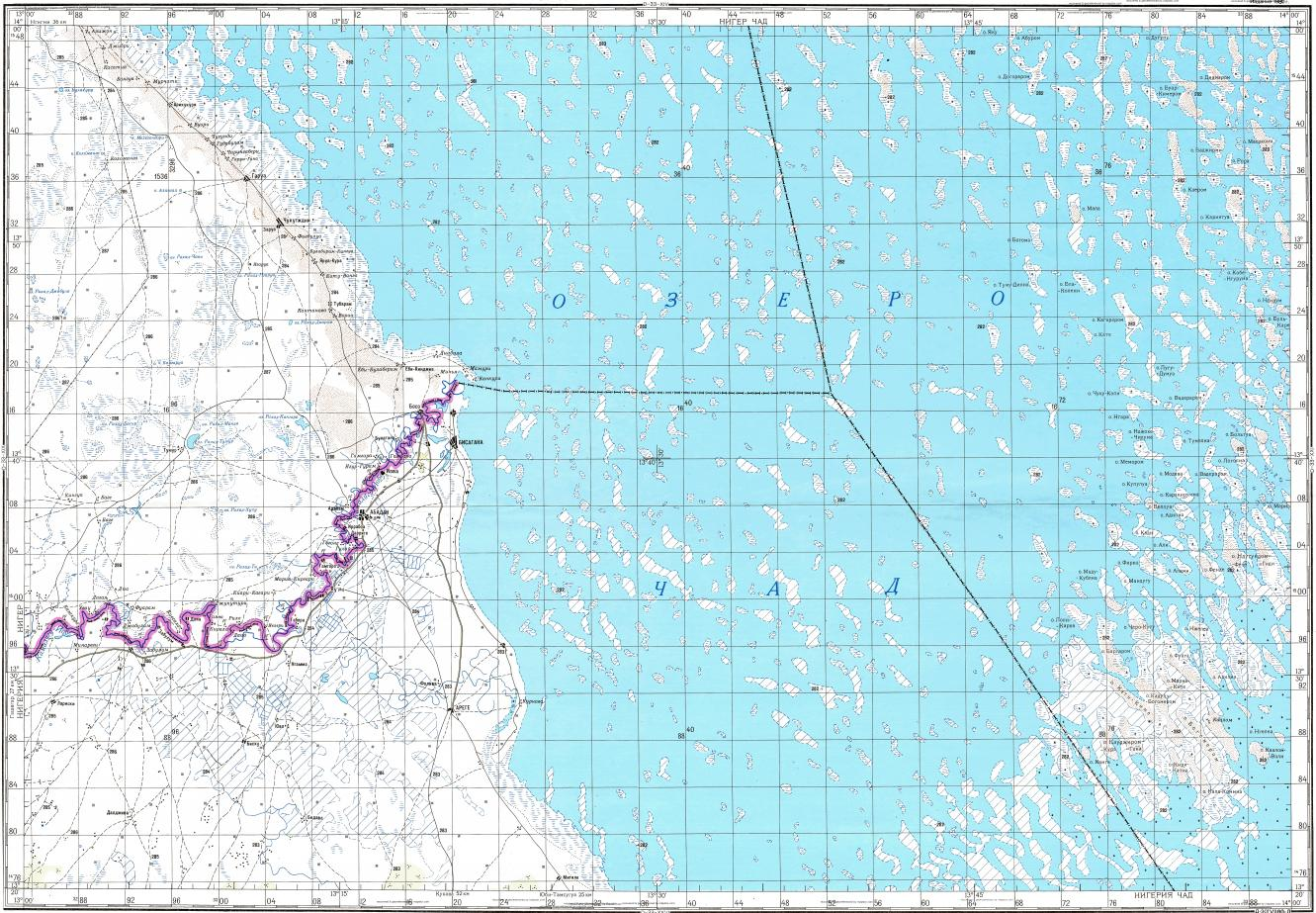 Download topographic map in area of Garoua mapstorcom